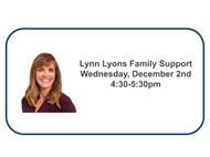 Lynn Lyons Family support